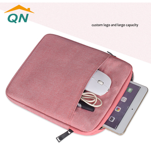 Custom logo travel Ipad case USB CABLE Storage bag Data cable charging cable organizer