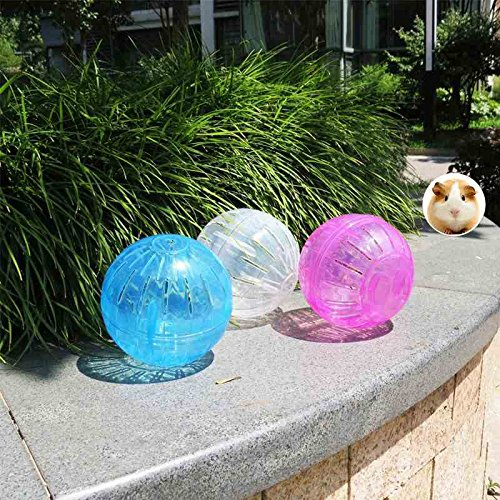 She-love Run-About Mini 4 inch Small Animal Hamster Run Exercise Ball
