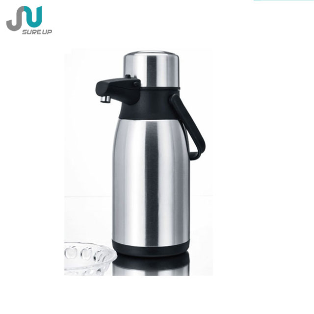 kitchen ware press function vacuum thermos airpot with pump (ASUD)