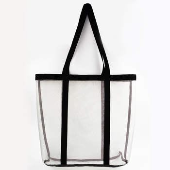 Anchor Plastic Beach Bag Supplier Mesh Tote With Holes Product On Alibaba