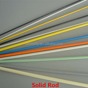 Reinforcing Plastic FRP Composition solid flat Bars