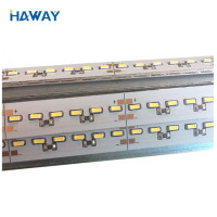 Good price rigid smd led strip 4014 led rigid strip 990x12x1.0mm 120led/m DC12V DC24V CE RoHS