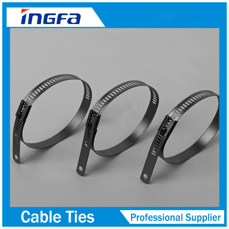 Ladder Multi Barb Lock Stainless Steel Tie Cable Tie