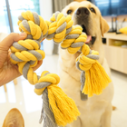 Wholesale New Style Big size handmade Cotton Rope Pet Dog Chew Toys for large dog