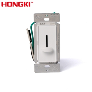 Single Pole 120V AC Wall Switch Slide Fan Speed Control
