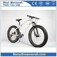 High speed Aluminium mountain bike/ frame 26*4.0 fat tire bicycle/ snow beach bike with free b helmet