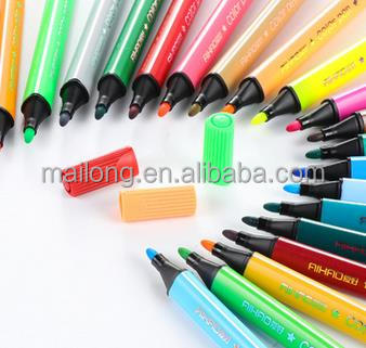 12 color watercolor pen pencil pencil brush children washable watercolor pen set pn5127