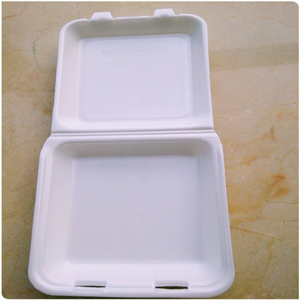 8 inch take out away foam food contain