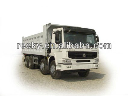 ventral lift HW76 cab one berth Howo 6x4 dump truck with CE and 371hp