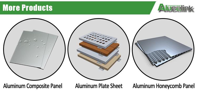 4 ミリメートル 5 ミリメートルファサード壁被覆 ACP ACM シートアルミニウム複合パネル建設材料