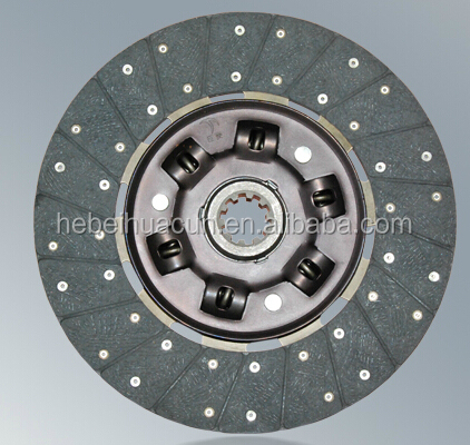 Heavy truck clutch driven disc /clutch plate assembly with the size 430mm