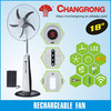 AC DC rechargeable fan emergency rechargeable fan with light