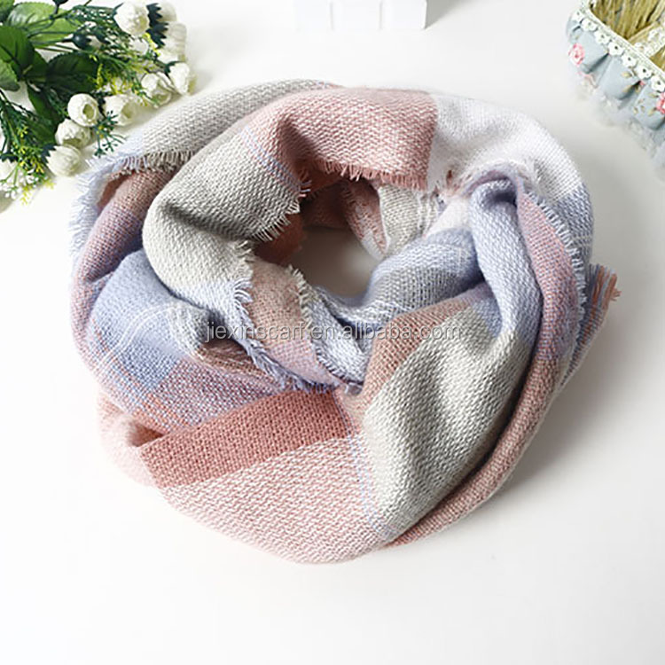 manufacturer Hot sale new fashion ladies acrylic scarf