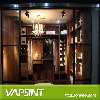 Cheap Price Modular Mdf Bedroom Corner Wardrobe Design