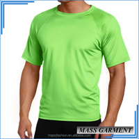 Fitted Gym Sport New Pattern T-shirts Plain Shirts Different Colors Wholesale 100% Crew Neck T Shirts