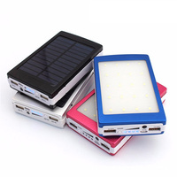 2018 High Quality Mobile Solar Power Bank 10000mAh Portable Charger Powerbank