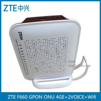 Sc/apc Zte F660 Gpon Onu 4ge+2voice+wifi V2 0 Version English Firmware -  Buy Zte F660 4ge,Zte F660 Gpon 4ge,F660 Gpon Onu 4ge Product on Alibaba com