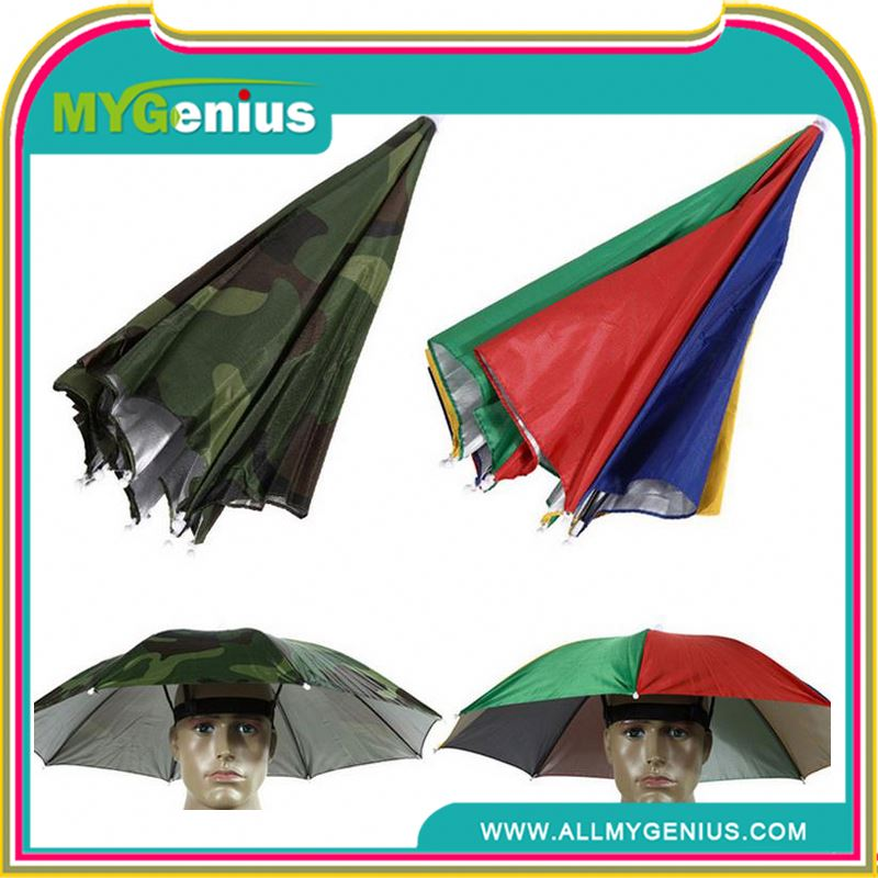 Head umbrella hat umbrella cap umbrella ,wind vented small head umbrella ,H0Tya football fan umbrella hat