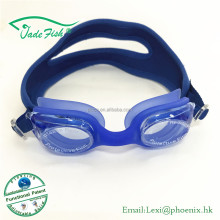 Super soft silicone gasket swim goggles Neoprene patented design strap swimming goggles for teenage and child