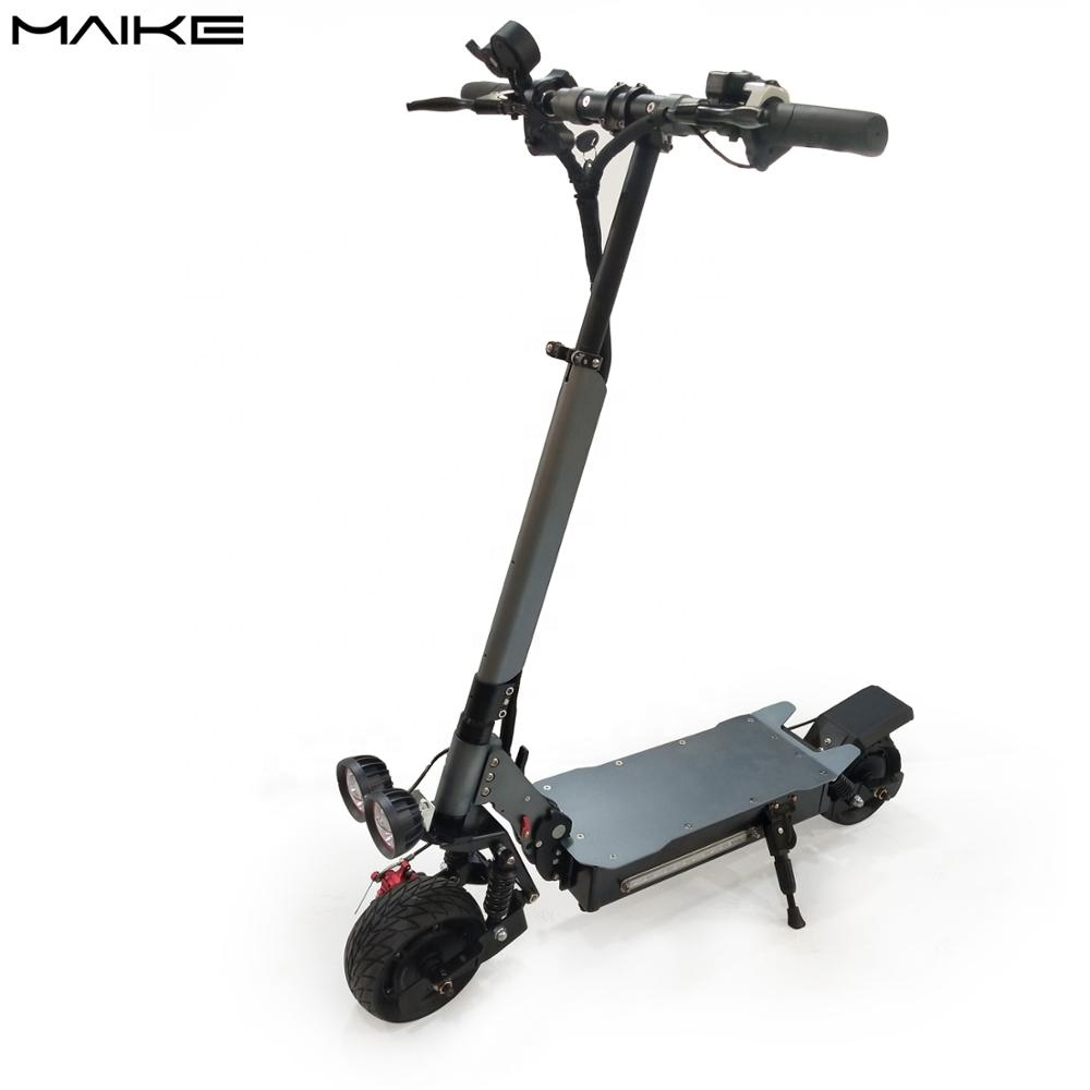 wholesale cheap MAIKE KK10 2000W dual motor mobility fat tire electric scooter for adult with seat