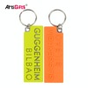 No Minimum Key Chain New Product Custom Double Sided Logo Pvc And Metal Keychain