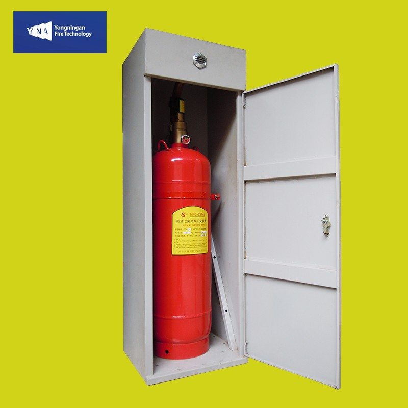Hfc-227ea Fm200 Cabinet Automatic Fire Extinguishing Fire Fighting  Equipment Fire Extinguisher Gas Suppression System - Buy Hfc-227ea Fm200  Cabinet