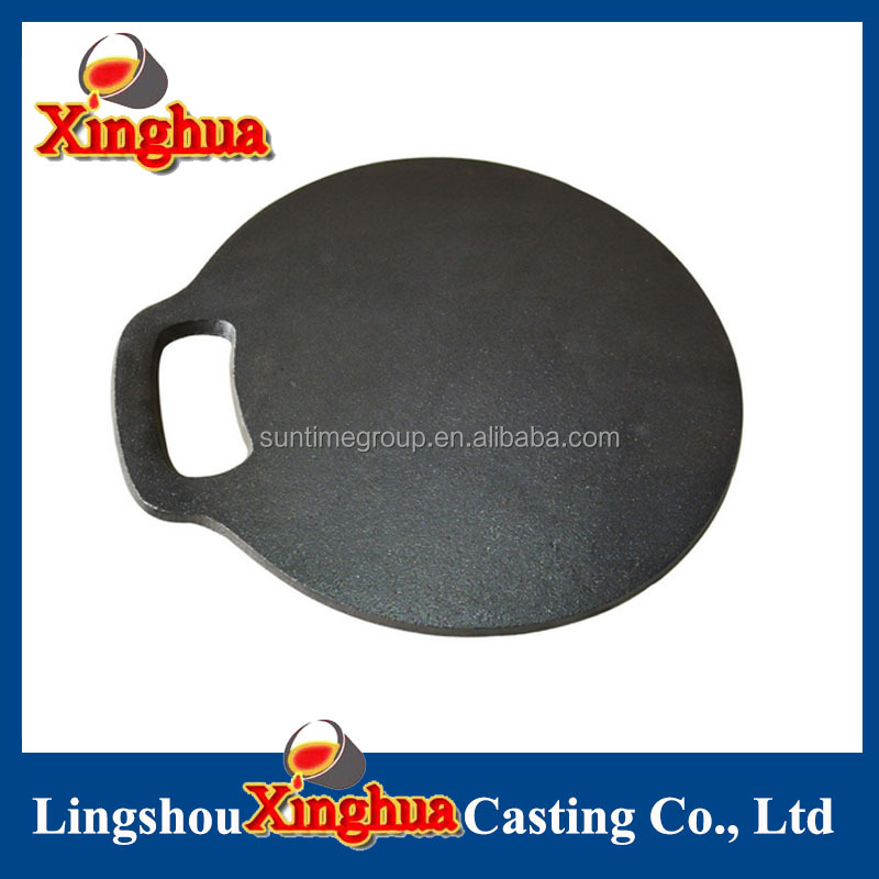 Cast Iron Round Frying Griddle