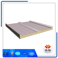 factory price pu polyurethane sandwich panel