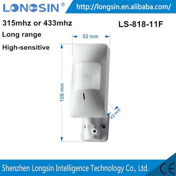 Longsin Dc12m Long Distance Wireless Motion Sensor Personal Usage ...