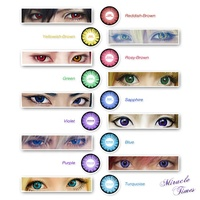 Good quality magic color soft contact lens fashion cheap colored contact lens factory