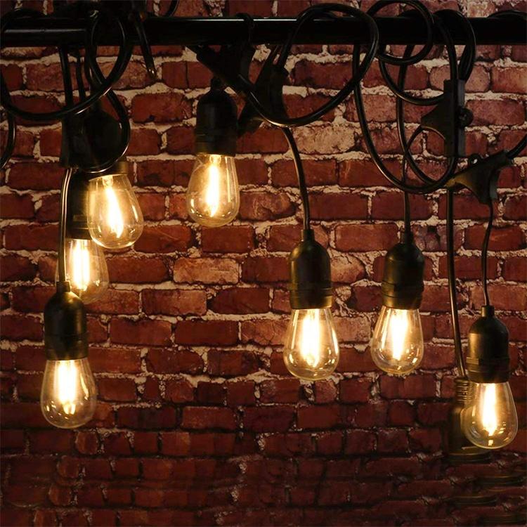 LED dize işıklar su geçirmez açık festivali dekoratif ışık guirlande lumineuse led peri ışık