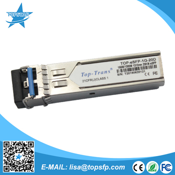 Alcatel Pop 155 M / 1000 M 1310nm 10-20km Huawei Compatible Sfp-ge ...