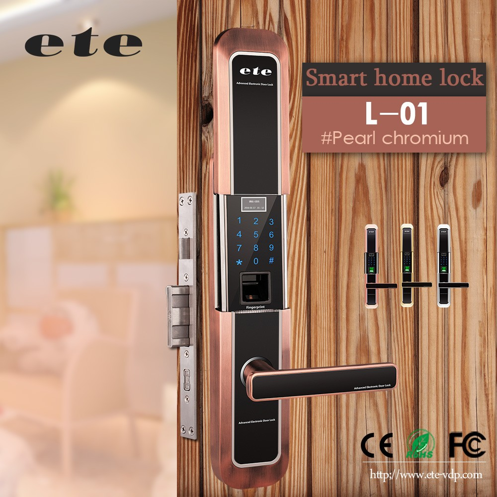 Electronic Biometrics Fingerprint Furniture Handles Aluminium Door Handle  Lock Set   Buy Furniture Handles Door Handle Lock Set,Aluminium Door Lock  Set,Door ...