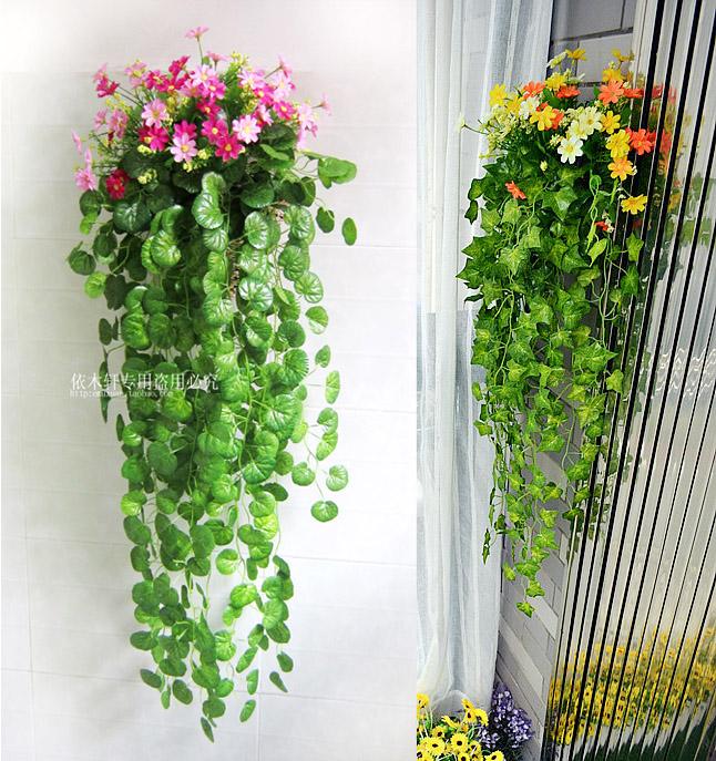 Rustic Artificial Flower Ivy Plants Plastic Silk Flower