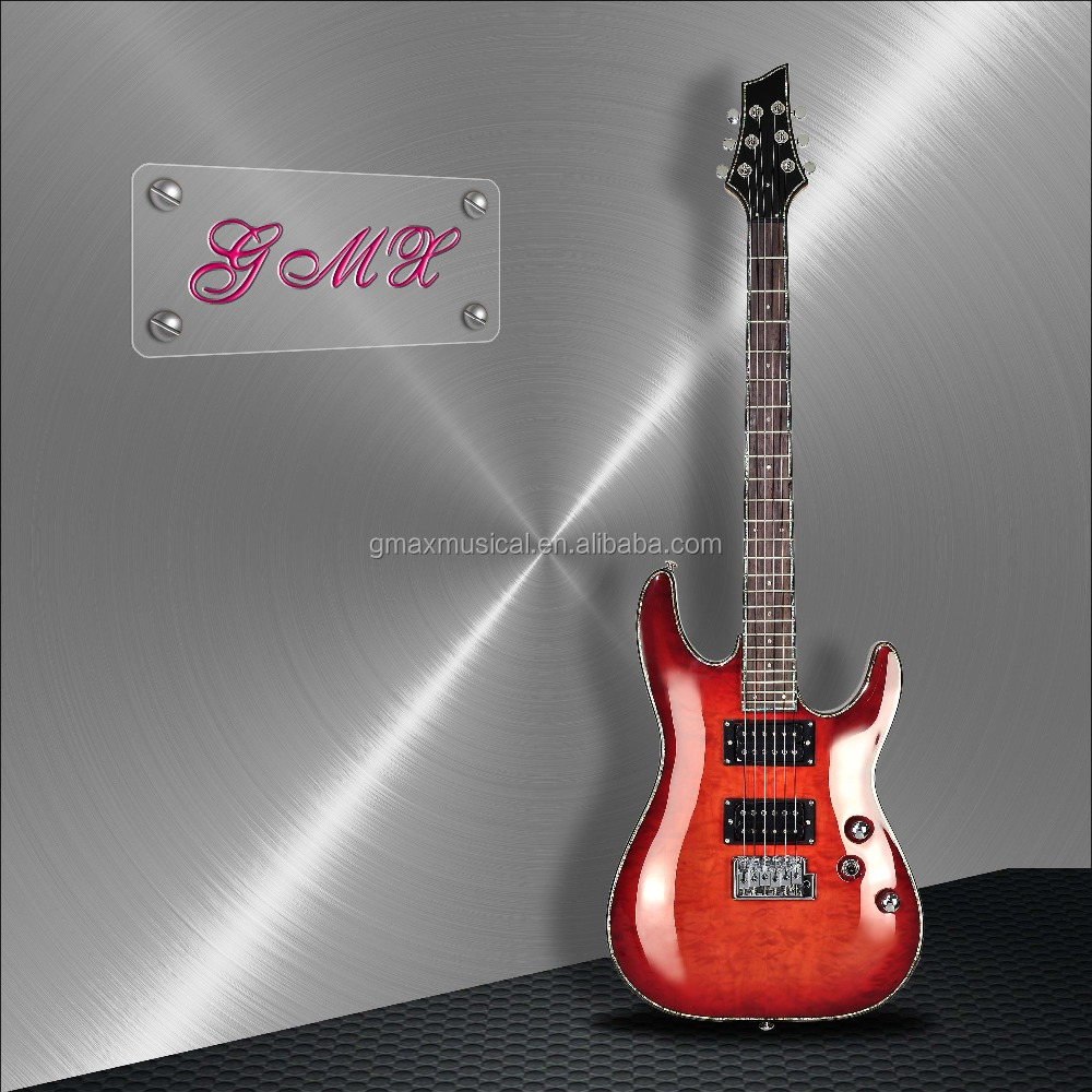 Various China electric guitar body, good quality musical instrument store
