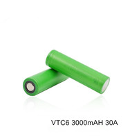 Good quality Wholesale 18650 battery 3000mAh 3.7V rechargeable Li-ion battery 30A for Sony VTC6 for electric bike