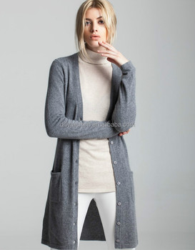 ba3c71c87d231 Knitting pattern womens basic slim long cardigans