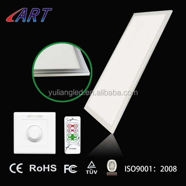 TUV/CE/CB/GS certified Warm White 100LM/W 1195x595MM 72W LED SMD Panel Light