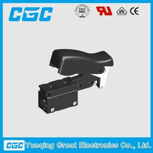 AC Trigger Switch with Speed Control and integrated brake contact power tool switch