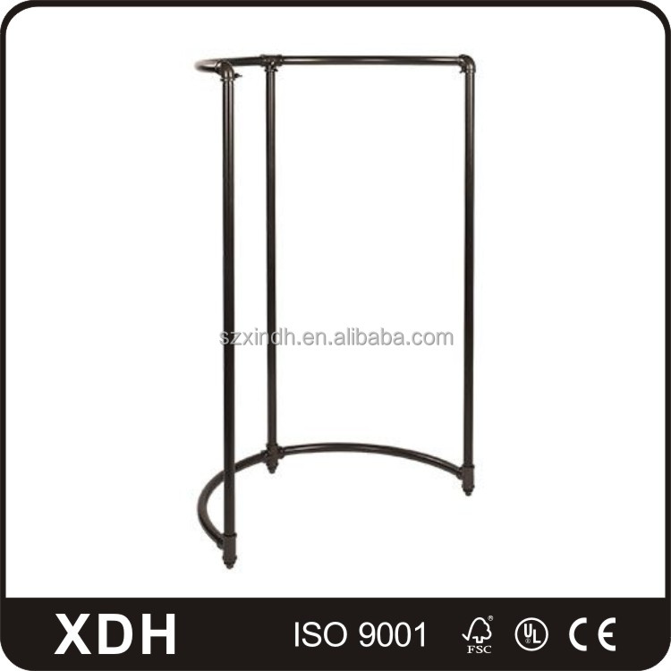 clothing factory outlet metal display fittings showroom clothes furniture