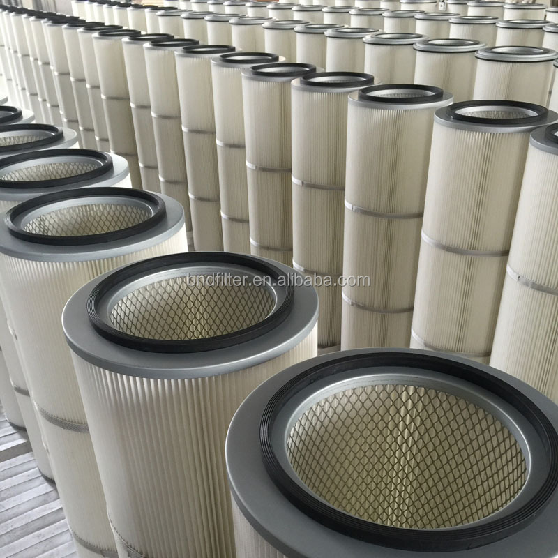 High Performance Dust Collector Filter For Feeding Dust