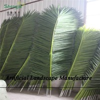 SJZJN 1439 Amazing Artificial Palm Leaves/Coconut Leaves High Quality For Sale Made in China