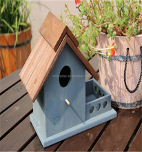 wholesale High Quality Wooden Pet Bird Play Stand House