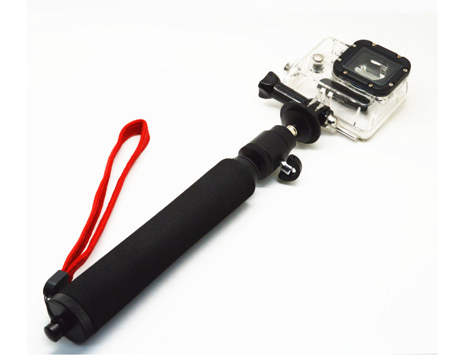 China factory gopro gimbal Extendable Camera Pole of Monopole for Gopro, for GoPro Hero 4