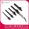 Dongguan electronics 5 in 1 hair tongs interchangeable hair curlers