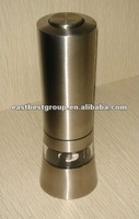 East Best Stainless steel electric salt & pepper mill EB846 dual sided salt and pepper shakers