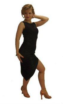 641e7326d41ec Diagonal hem Basic Latin Practice Dress