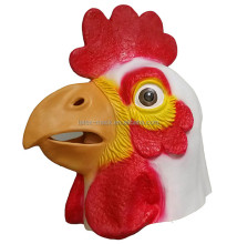 Newly Halloween Custom Quality Natural Colorful Full Cock Toy Rubber Mask