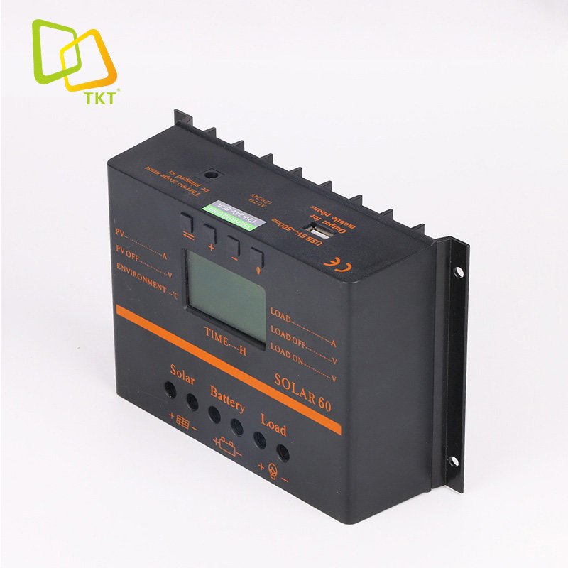 In Stock TAKTE 40A 50AMP 60A 80A 1224V 48V Manual PWM Solar <strong>Charge</strong> <strong>Controller</strong>