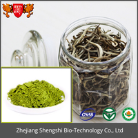Mature green tea extract powder